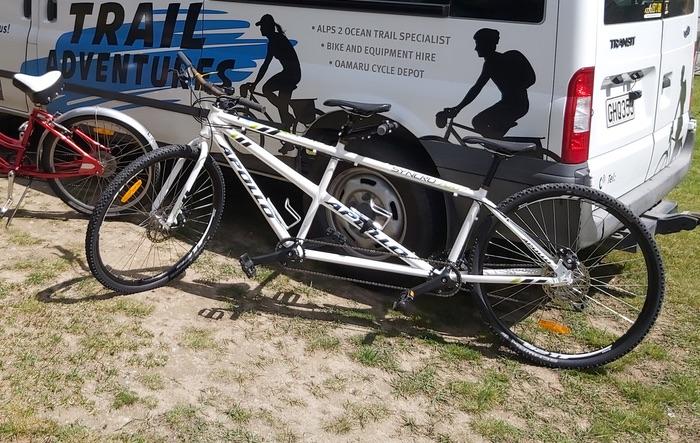 Tandem bike hire
